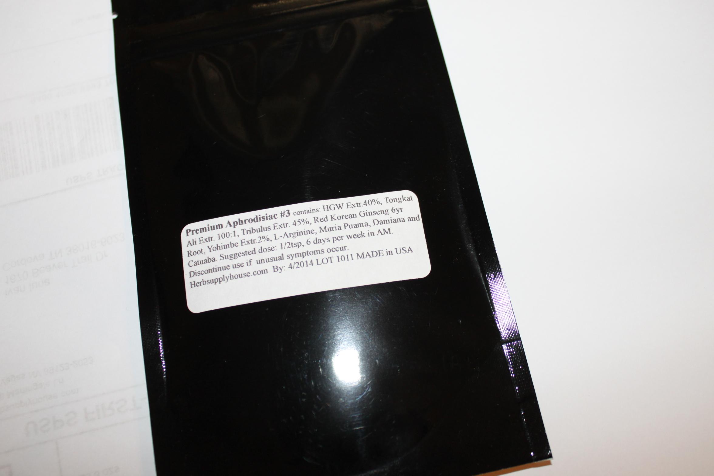 Premium Aphrodisiac Number3 Tribulus Extract Horny Goat ...
